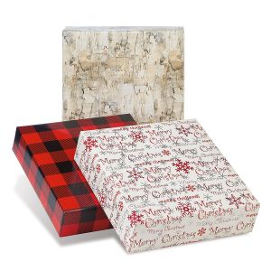 Red Collection Jumbo Rolled Christmas Wrapping Paper Set