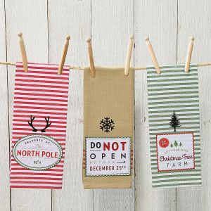 Retro Christmas Kitchen Towels
