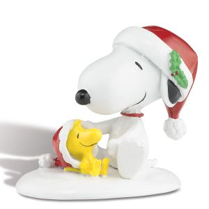 Happy Holidays Snoopy™  & Woodstock Figurine
