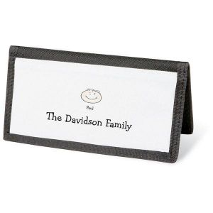Happy Family Personal Checkbook Cover