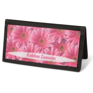Daisy Delight  Checkbook Cover - Non-Personalized
