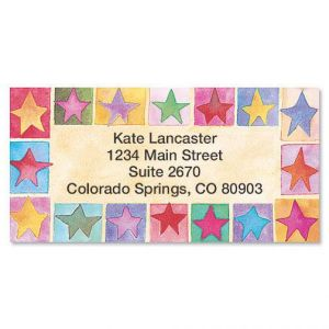 Stars on Parade Address Labels