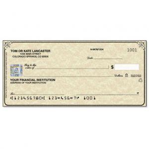 Securiguard Parchment Hologram Premium Checks