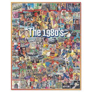 The Eighties 1,000-Piece Puzzle