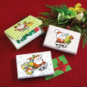 Happy Santa Gift Card Boxes