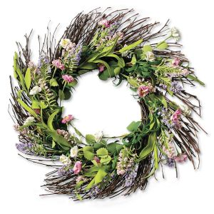 Summer Floral Wreath