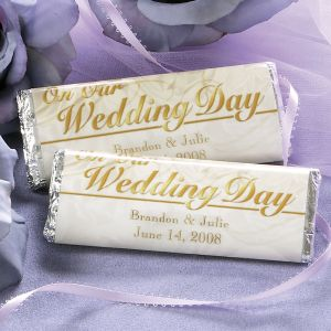 Wedding Candy Bar Wrappers by Current Catalog