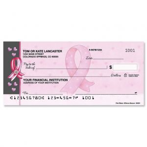 Pink Ribbon By Dianna Marcum Single Checks
