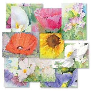 Floral Whispers Note Cards Value Pack