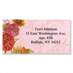 Tim Coffey Border Address Labels