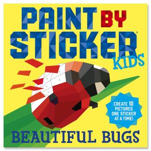 Beautiful Bugs Paint By Sticker Book