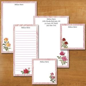 Rose Garden Notepad Set
