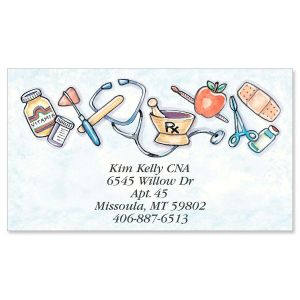 Health Care Designer Calling Cards