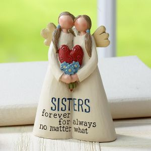 Sisters Forever Angel Figurine