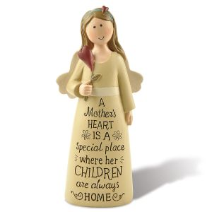 A Mother's Heart Angel Figurine