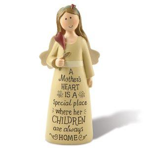 A Mother's Heart Angel Figurine