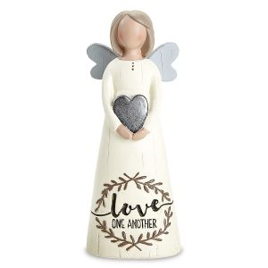 Angel Heart Love Figurine
