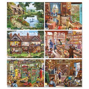 6-in-1 Steve Crisp Puzzle