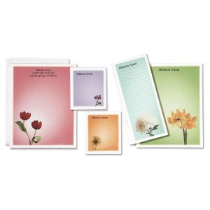 Garden Blossoms Notepad Set