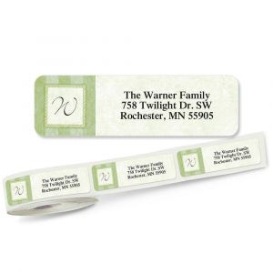 Tailored Elegance Rolled Address Labels
