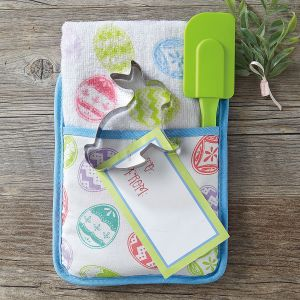 Easter Towel & Oven Mitt Set