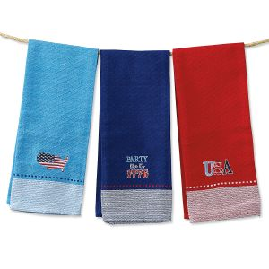 Patriotic Kitchen Towels