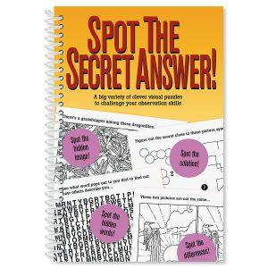 Spot the Secret Answer Book