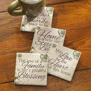 Home & Heart Coasters