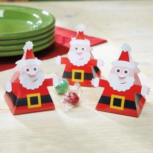 Santa Favor Boxes