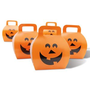 Halloween Pumpkin Favor Boxes - BOGO
