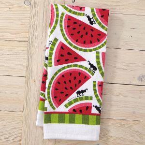 Slices Watermelon Design Kitchen Towel