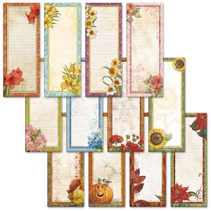 Seasonal Magnetic Shopping List Pads