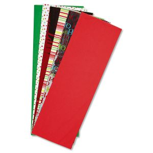 Christmas Holiday Foil Tissue Value Pack