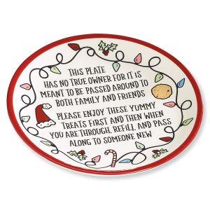 Christmas Sharing Plate
