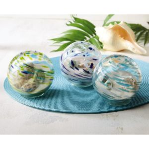 Handblown Glass Beach Orb