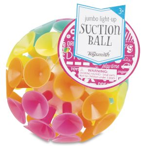 Light Up Suction Ball