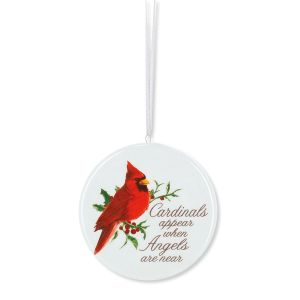 Cardinal Joy Ornament