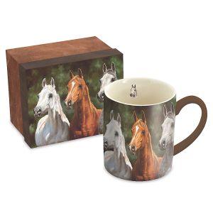 Horses Mug and Matching Gift Box