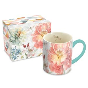 Floral Mug and Matching Gift Box