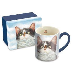 Cat Mug with Matching Gift Box