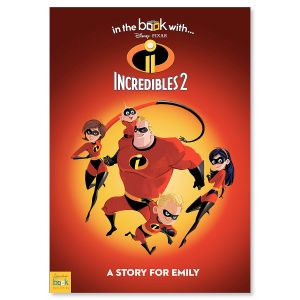 Pixar Incredibles 2 Personalized Storybook