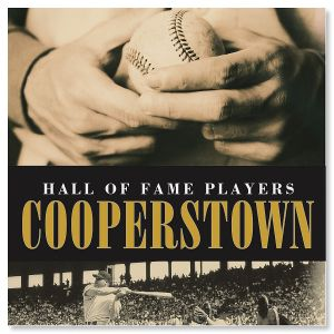 Cooperstown, hall of fame players baseball book