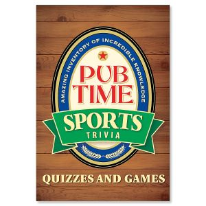 Pub Time Sports Trivia Book