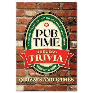 Pub Time Useless Trivia Book
