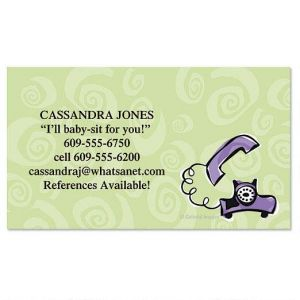 Chitchat Calling Card