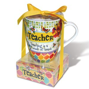 Teacher Notepad and Mug