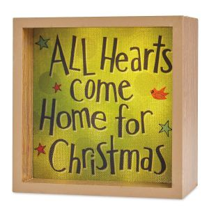All Hearts Light Box