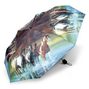 Horse Compact Umbrella