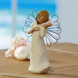 Willow Tree® Thinking of You Angel Figurine