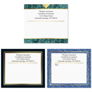 Foil Accents Package Labels  (3 Designs)